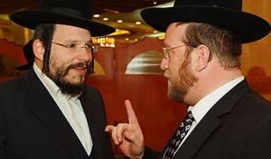 רובינשטיין ופינדרוס (צילום: ישראל ברדוגו)