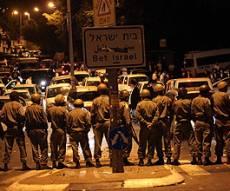 כוחות המשטרה בהפגנות בירושלים. צילום: פלאש 90