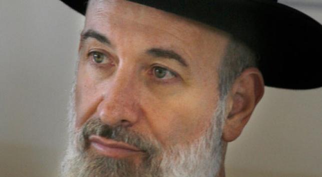 הרב מצגר (צילום: פלאש 90)