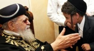 """היהודים מתימן בפגישה עם הגר""""ע (צ´: ששון תירם) - עלו השנה: 3 יהודים מלבנון, 47 מתימן"""