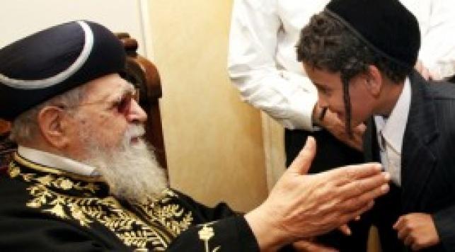 """היהודים מתימן בפגישה עם הגר""""ע (צ´: ששון תירם)"""