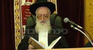 הרב יעקב יוסף (צילום: כיכר השבת)