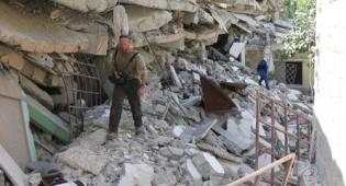 """שברי בניינים בהאיטי, השבוע (דוברות זק""""א)"""