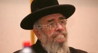הרב לנדא (צילום: מאיר אלפסי, כיכר השבת)