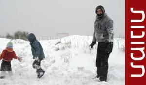 הצפון נצבע לבן • גלריית שלג מרהיבה