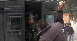 (צילום: פלאש 90. וידאו: ערוץ 2) - צפו בתיעוד: בלוק לעבר שוטר, בפרצוף