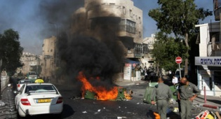 ארכיון (צילום: פלאש 90) - סערת מירון: מהומות החלו בירושלים
