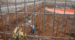 עבודות הבניה (צילום: עוזי ברק, כיכר השבת)
