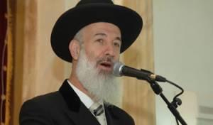 הרב הראשי לישראל, הרב יונה מצגר נואם בכינוס