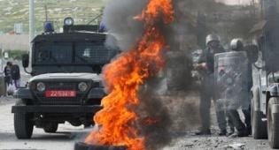 """תמונת מלחמה: עימותים אלימים ביו""""ש"""