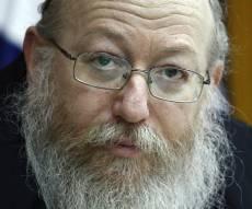סגן השר, יעקב ליצמן (צילום: פלאש 90)