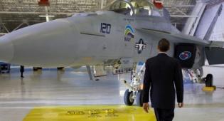 יורה לתקוף? אובמה על-יד מטוס (צ´: הבית הלבן) - נתניהו נשאל: אובמה יטפל באיראן?