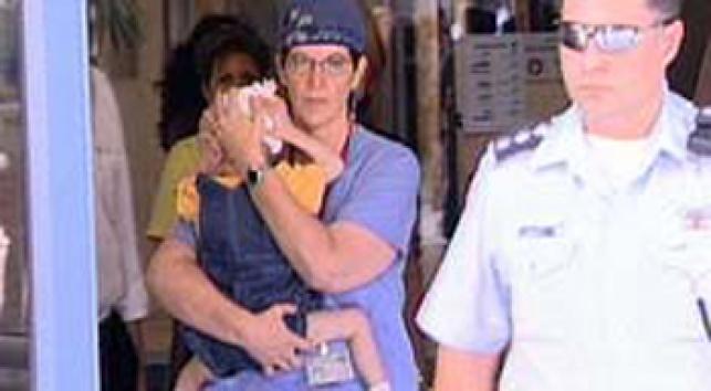 הילד המורעב משוחרר מבית החולים (צילום: חדשות 2)