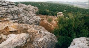 """פארק הסלעים. צילום: אבי הירשפלד, קק""""ל"""