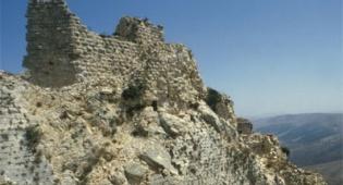 אילוסטרציה: פלאש 90 - מבצר קאקון, מוצב שליטה צלבני