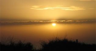 שקיעה בחוף אשקלון, צילום: ליבנה שמילה - יופי של מקום - גן לאומי אשקלון