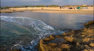 חוף דור-הבונים. צילום: דורון ניסים - 4 שעות בחוף דור, הבונים ונחל תנינים