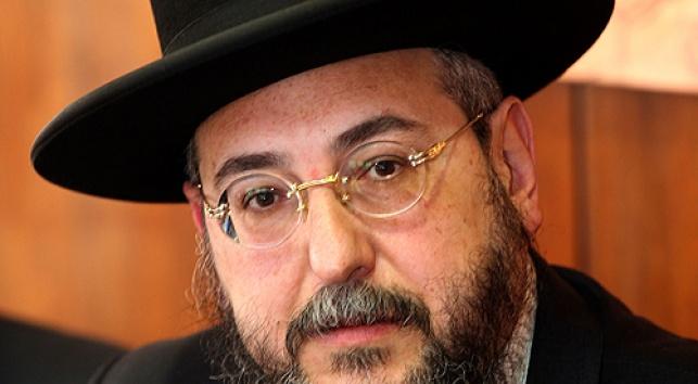 הרב אמסלם (צילום: פלאש 90)