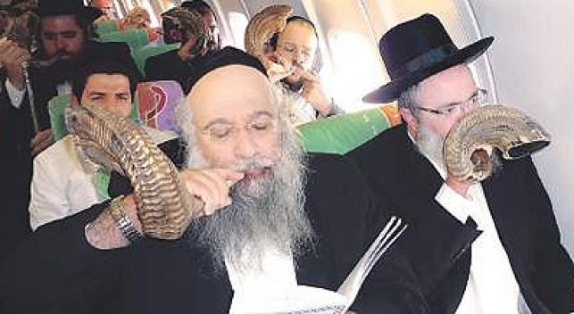 המקובלים בטיסה. צילום: יהודה שלזינגר