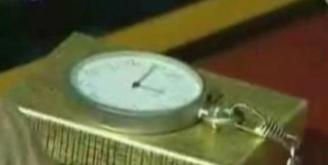 השעון המיוחד (צילום: הערוץ הראשון)
