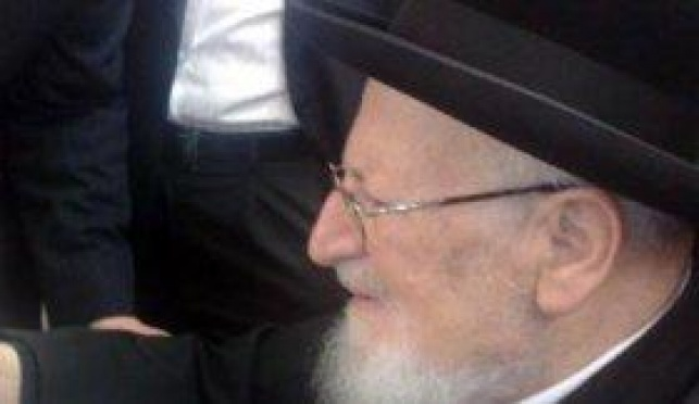 הרב מרדכי אליהו (ארכיון: כיכר השבת)