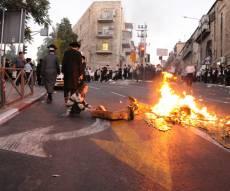 """הראב""""ד הותקף, ירושלים שוב בערה"""