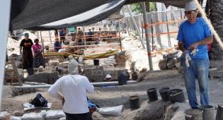 החפירות ביפו, היום (צילום: עוזי ברק, כיכר)