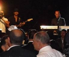הלהקה מופיעה במרוקו