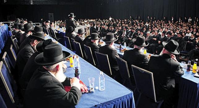 כנס של רבני ישראל. צילום: ישראל ברדוגו