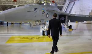 מודאגים מתקיפה. אובמה בחיל האוויר (צ´: הבית הלבן
