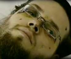 גוטשטיין בבית-החולים, היום (צילום: ערוץ 2)