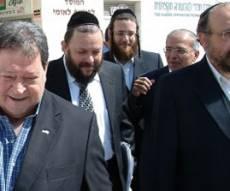 בן אליעזר בסיור עם מנהלי המרכז וראש העיר