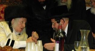 ענבי הגפן: חתונת נכדת הרבי מקאליב