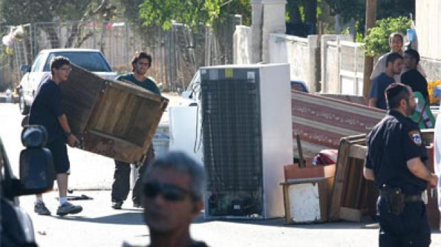 יהודים מתיישבים ב'שייח ג'ארח'. צילום: פלאש 90