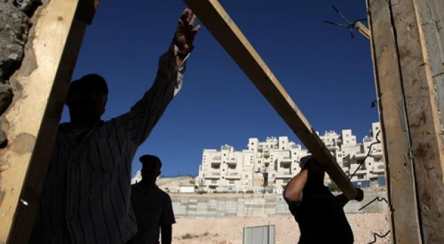 בנייה במזרח ירושלים (צילום: פלאש 90)