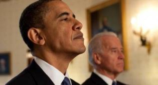 אובמה וסגנו (צילום: הבית הלבן)