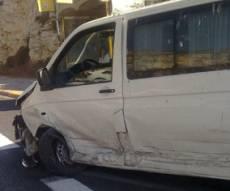 זירת התאונה (מנחם לב, חדשות 24)