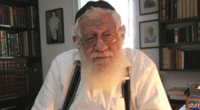 הרב יצחק (איקא) ישראלי. צילום: עזרא לנדא, בקהילה