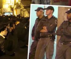המשטרה פשטה אמש על מאה שערים