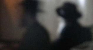"""האדמו""""ר במהלך התפילה (צילום: דוד כהן)"""