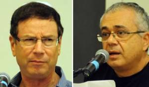 אמנון לוי וגדי סוקניק (צילומים: ברלה שיינר)