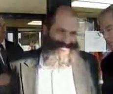 רובשקין ביציאה מבית המשפט, אתמול. צילום: שטורעם