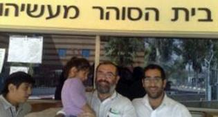 בן עטר יוצא מהכלא (צילום: כיכר השבת)