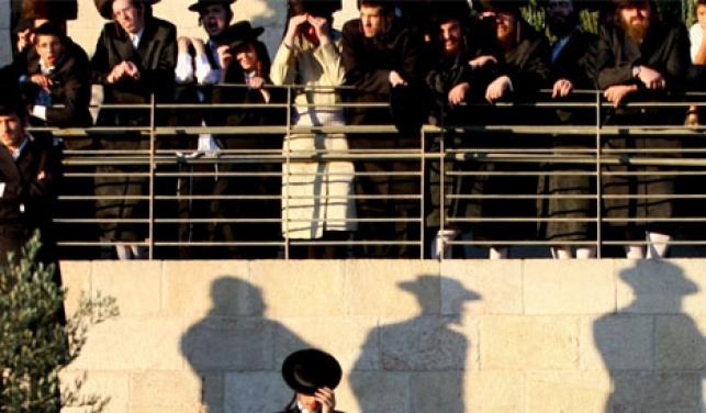 מפגינים בשכונת מאה שערים (ארכיון פלאש 90)