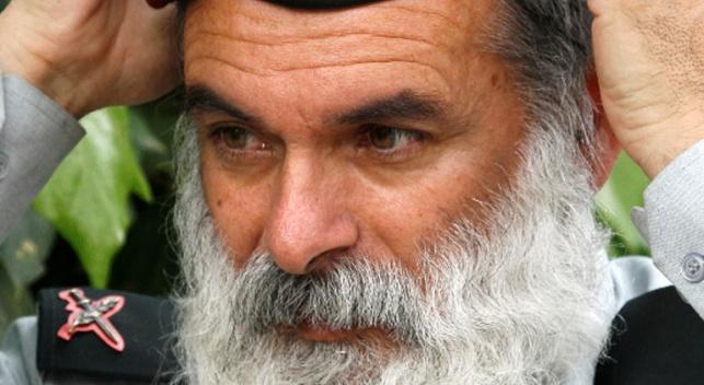 """תא""""ל הרב אביחי רונצקי (פלאש 90)"""