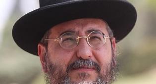 הרב אמסלם (צילום: מאיר אלפסי, כיכר)