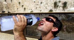 (צילום: פלאש 90) - מה אתם חושבים על המשבר במים?