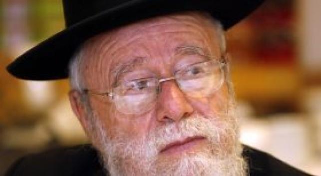 הרב ליאור (צילום: פלאש 90)