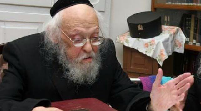 """הגרי""""ש אלישיב (צילום: ארכיון)"""
