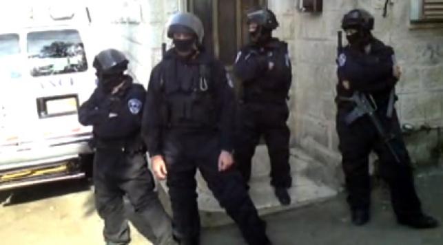 הפשיטה הבוקר בירושלים